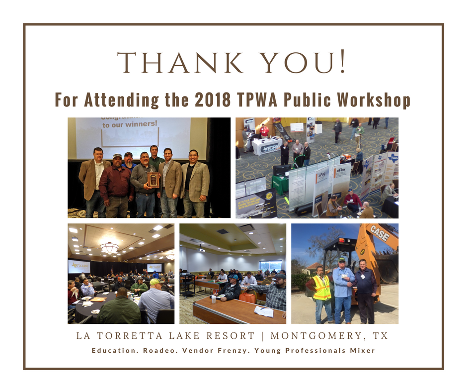 2018 TPWA Public Workshop