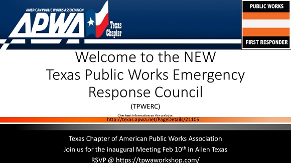 Public Works Emergency Response Council